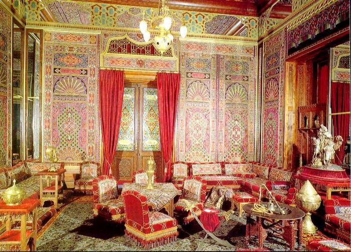 Шторы в турецком стиле
